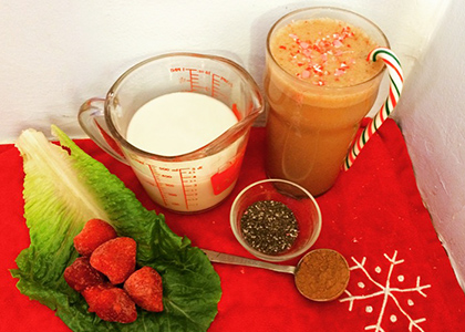An Easy Christmas Morning Smoothie