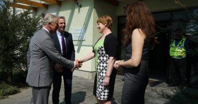 Alteța Sa Regală, Prințul de Wales al Marii Britanii, a vizitat Centrul HOSPICE Casa Speranței din București