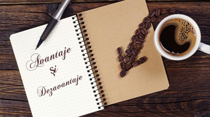 Consumul de cafea, avantaje şi dezavantaje